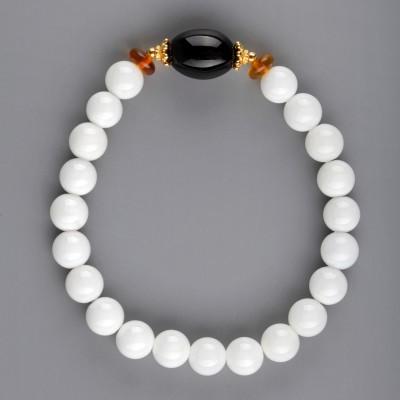 Amber in Shell Amber Bracelet