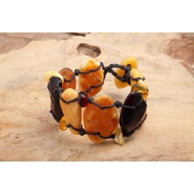 Amber Bracelet Flintstone