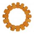 Unique Antique Buttons Amber Bracelet