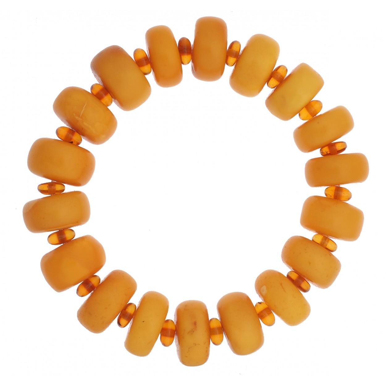 Sunny Buttons Amber Bracelet