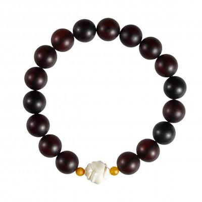 White Rose Amber Bracelet