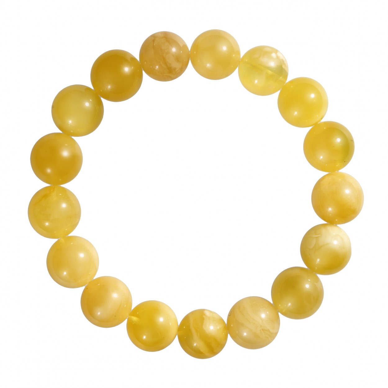 Perfect Beads Amber Bracelet