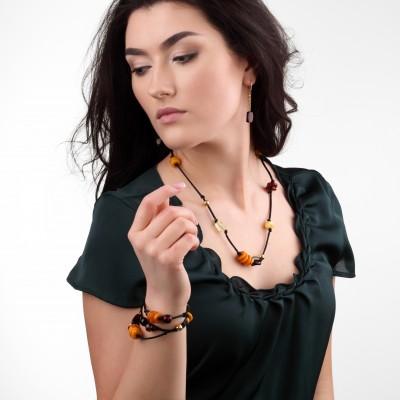 Saranda Amber Necklace
