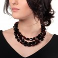 Cherry Rain Amber Necklace