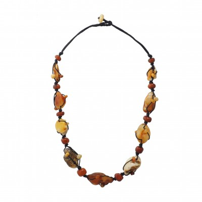 Shining Day Amber Necklace
