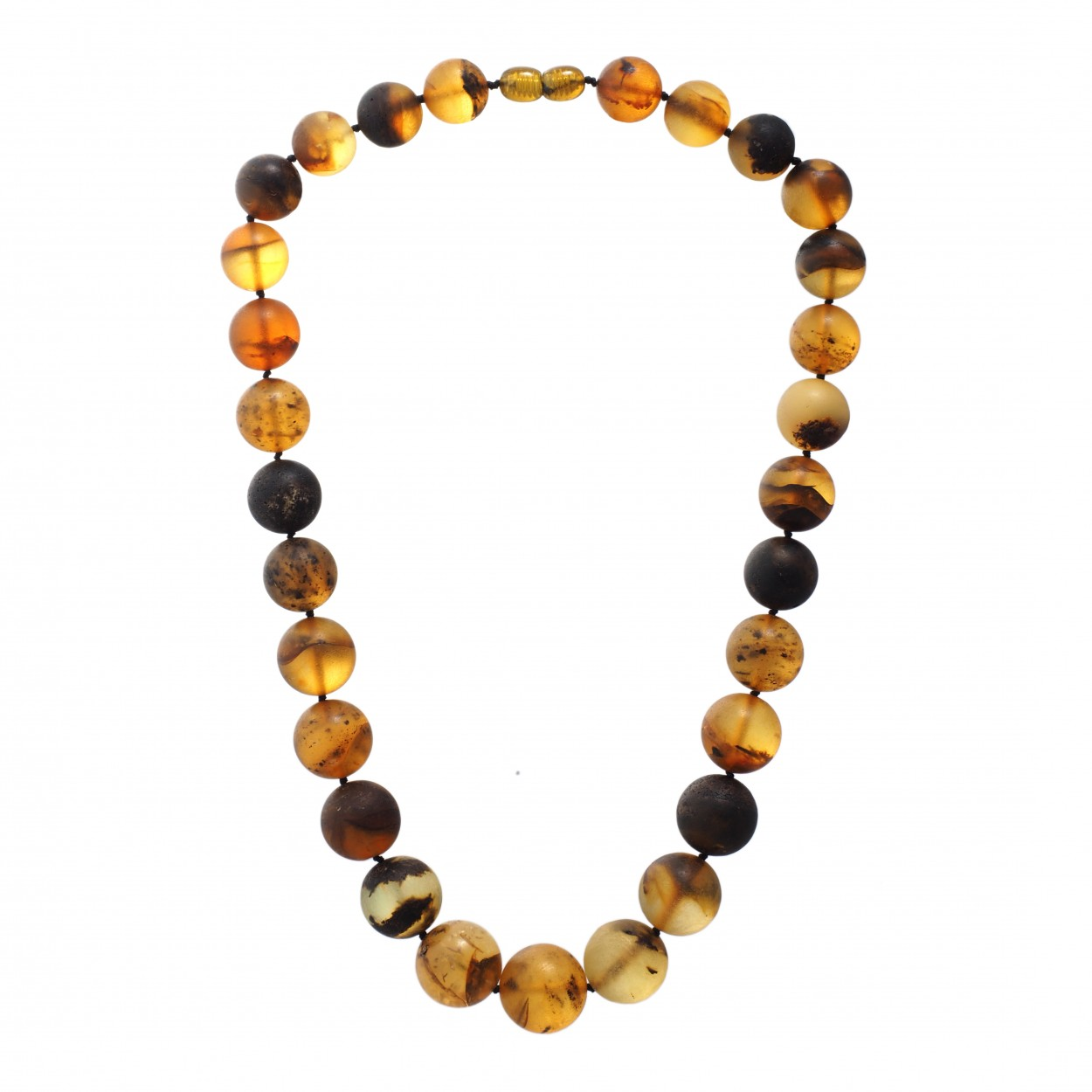 Morning Mist Amber Necklace