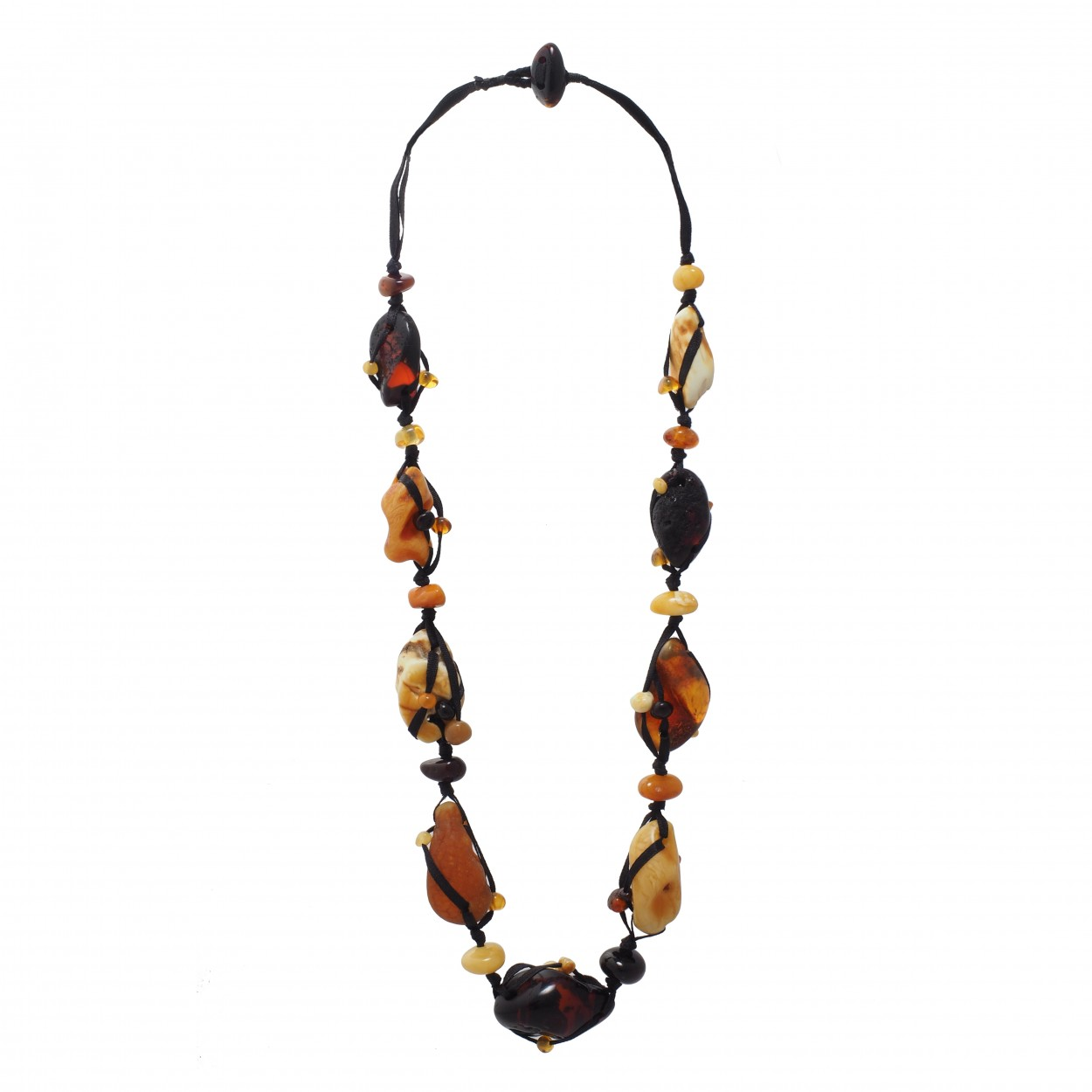 Warm Evening Amber Necklace