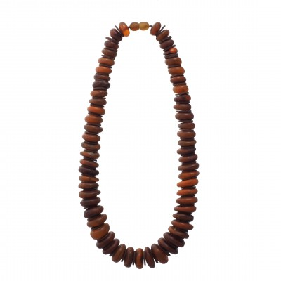 Military Amber Necklace