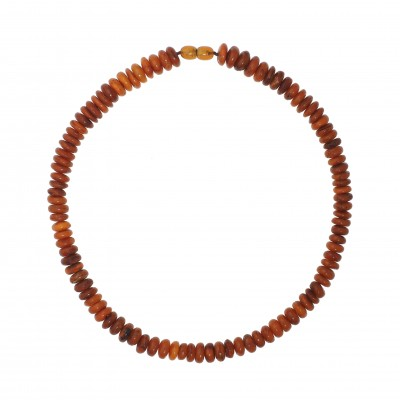 Orange Day Amber Necklace