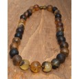 Amber Necklace Morning Mist