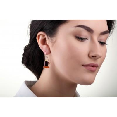 Giza Amber Earrings