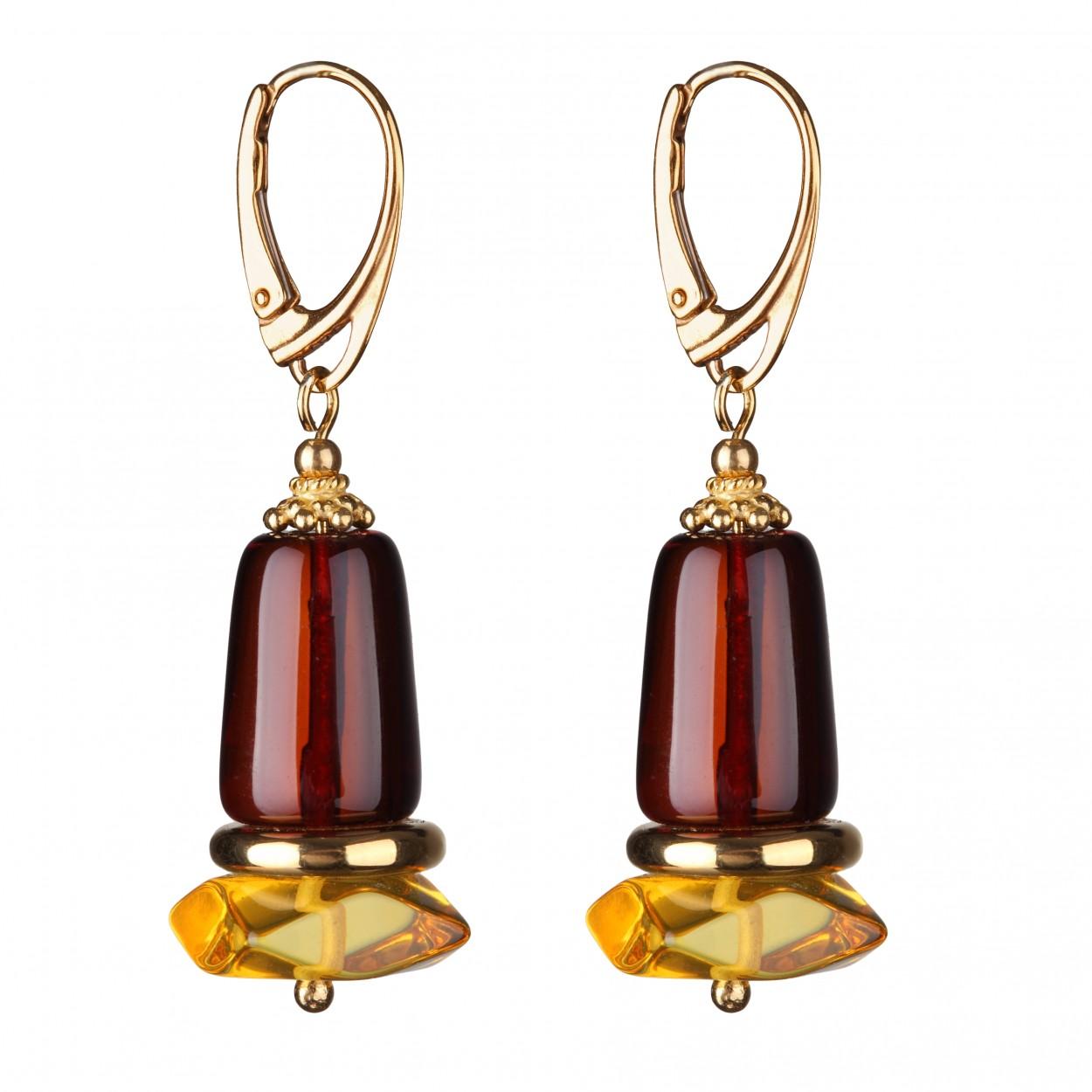 Dew Amber Earrings