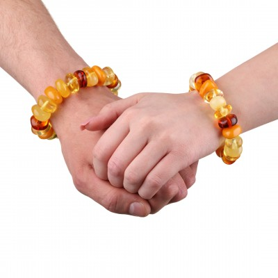 Amber Bracelet Rainbow Bonbon
