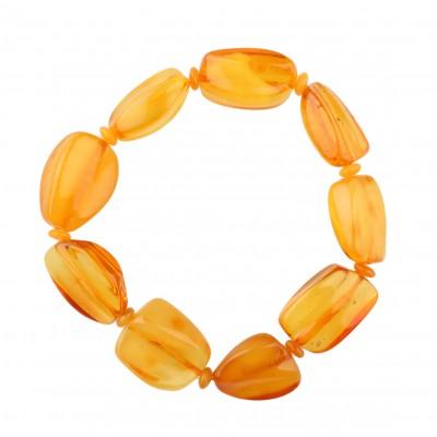 Sunny Stones Amber Bracelet
