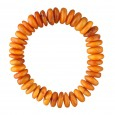 Light Antique Buttons Amber Bracelet
