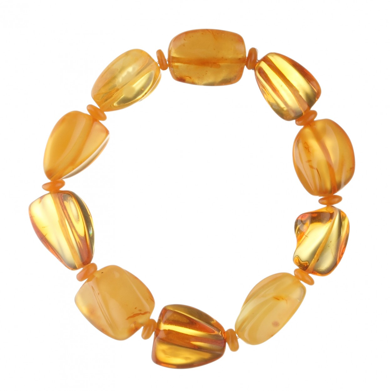 Sunny Pearls Amber Bracelet