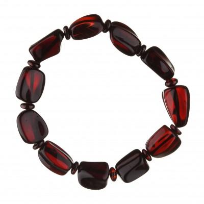 Cherry Stone Amber Bracelet