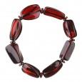 Cherry Dance Amber Bracelet