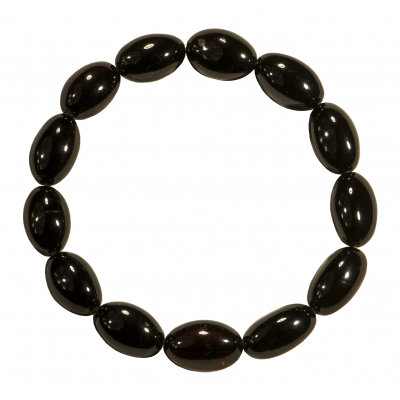 Night Olives Amber Bracelet
