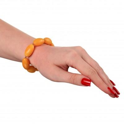 Yellow Morning Amber Bracelet