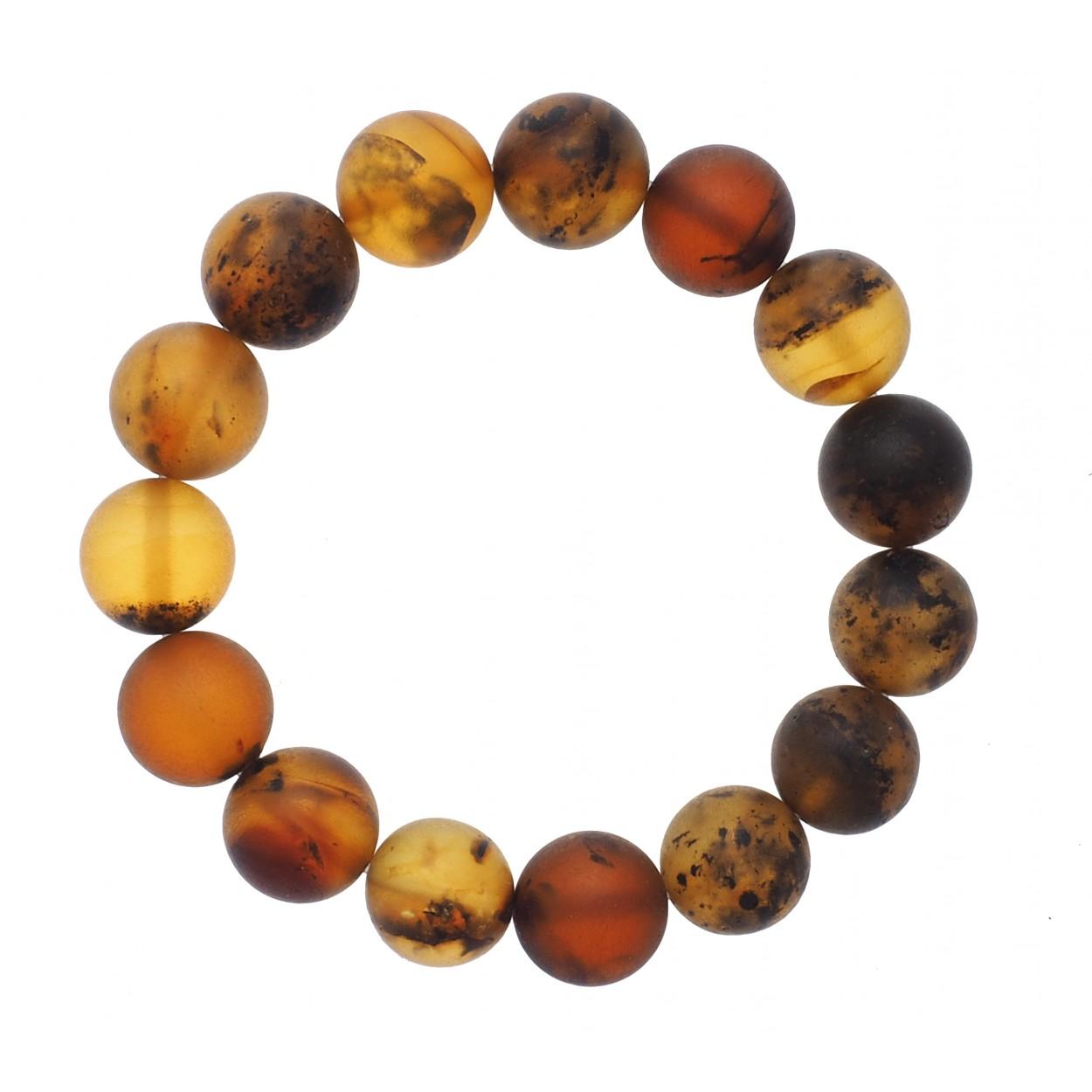 Foggy Beads Amber Bracelet