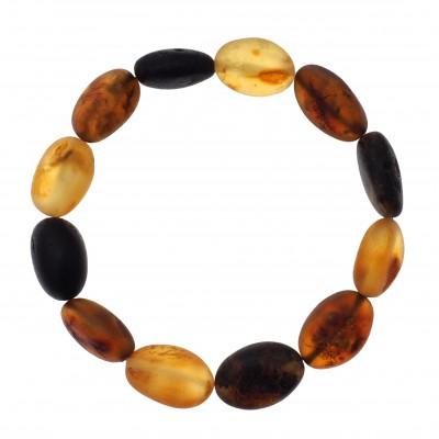 Green Beans Amber Bracelet