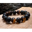 Dark Beads Junior Amber Bracelet