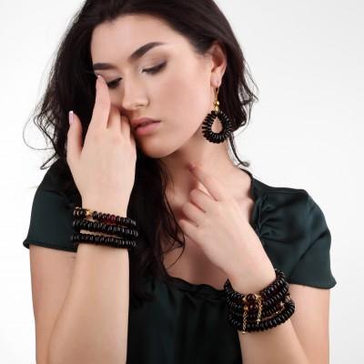 Wave Amber Bracelet
