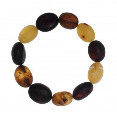 Big Beans Amber Bracelet