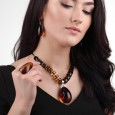 Royal Egg Amber Necklace