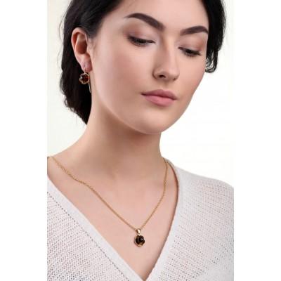 Mona Amber Earrings