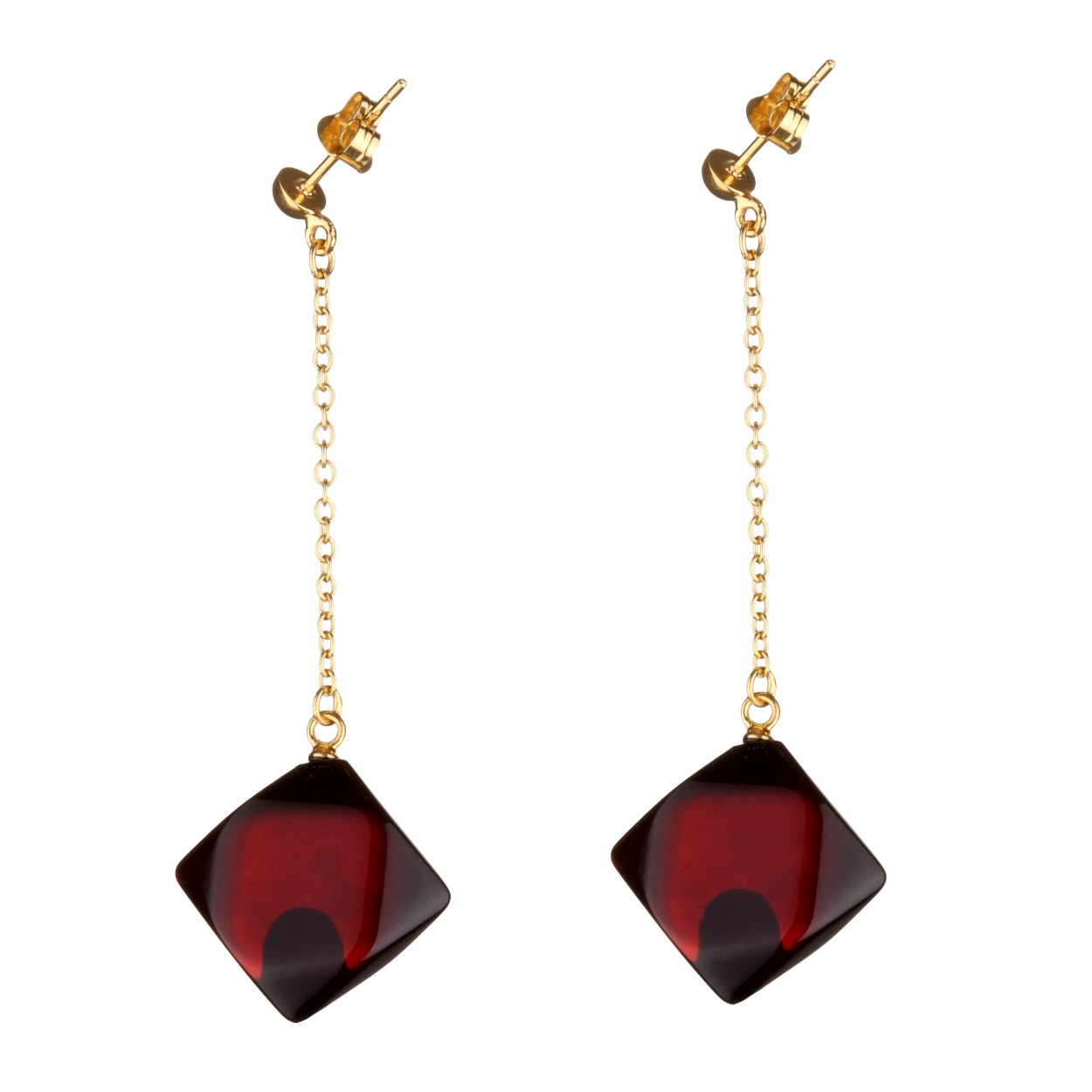 Cherry Pendola Amber Earrings