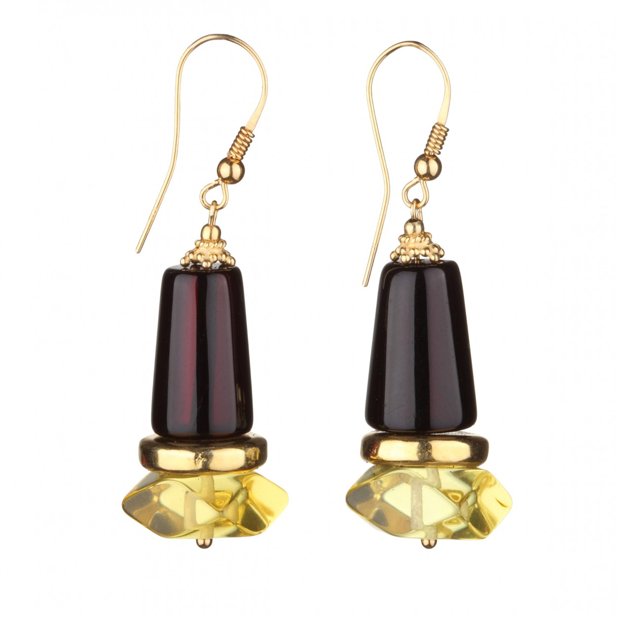 Purity Amber Earrings