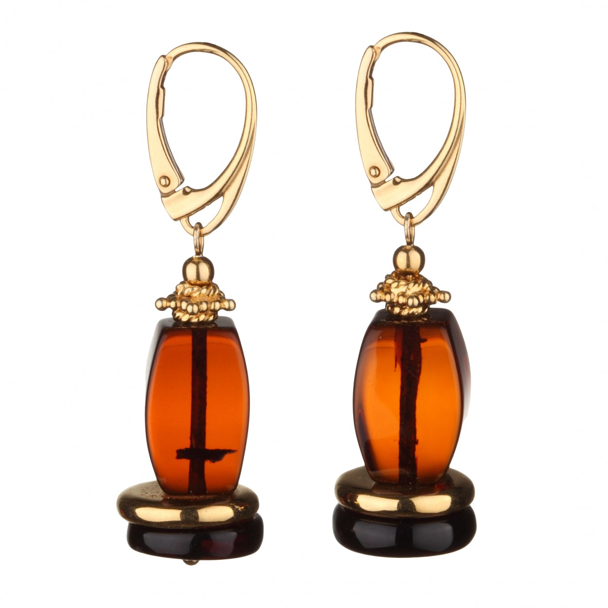 Puppet Amber Earrings