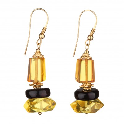 Sunshine Amber Earrings