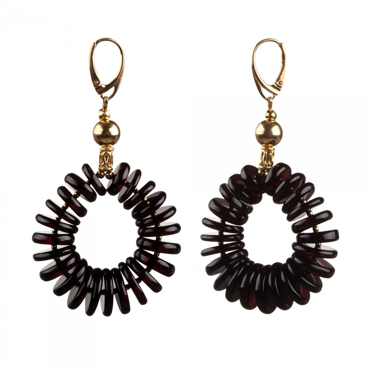 Zodiac Amber Earrings