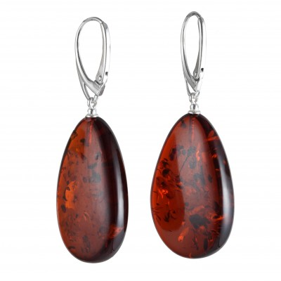Amber Earrings Burble Pancakes