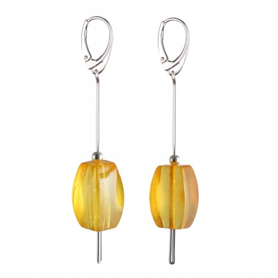 Clarity Amber Earrings