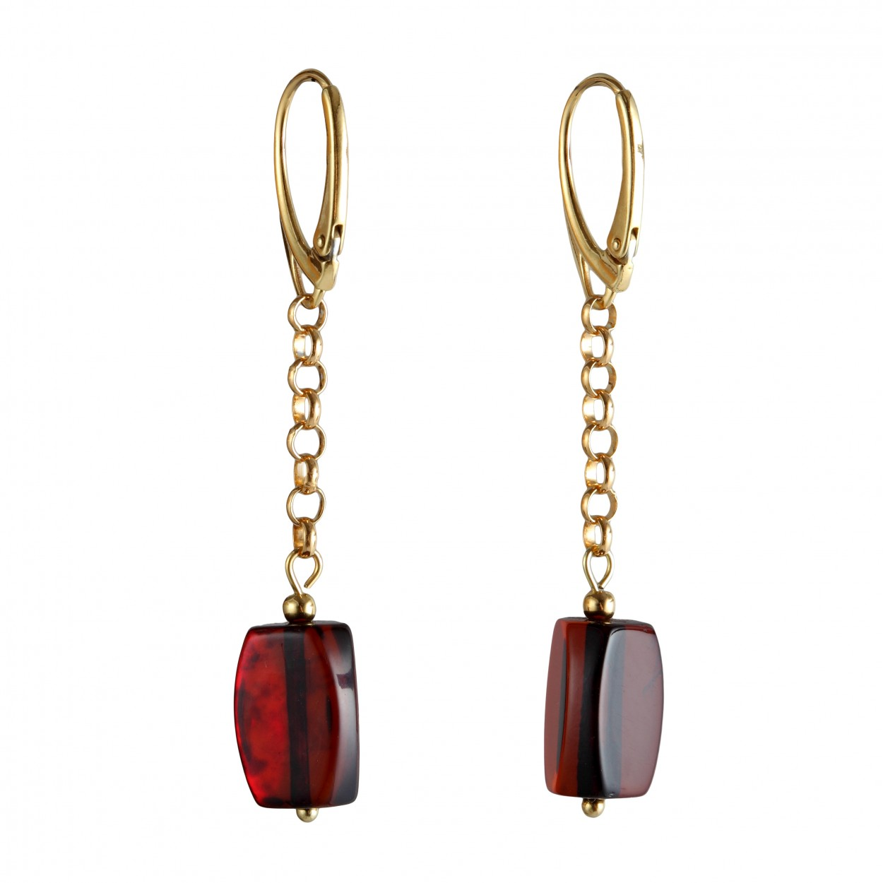 Thumbelina Amber Earrings