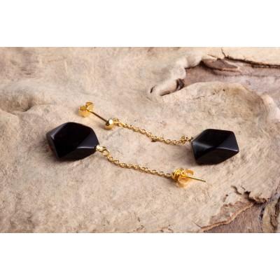Amber Earrings Cherry Pendola