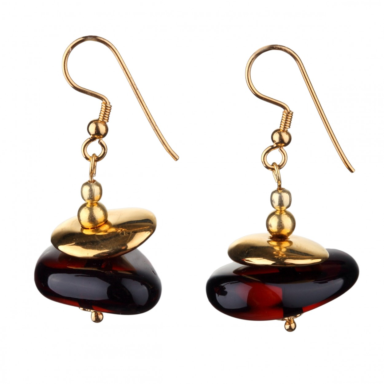 Siren Amber Earrings