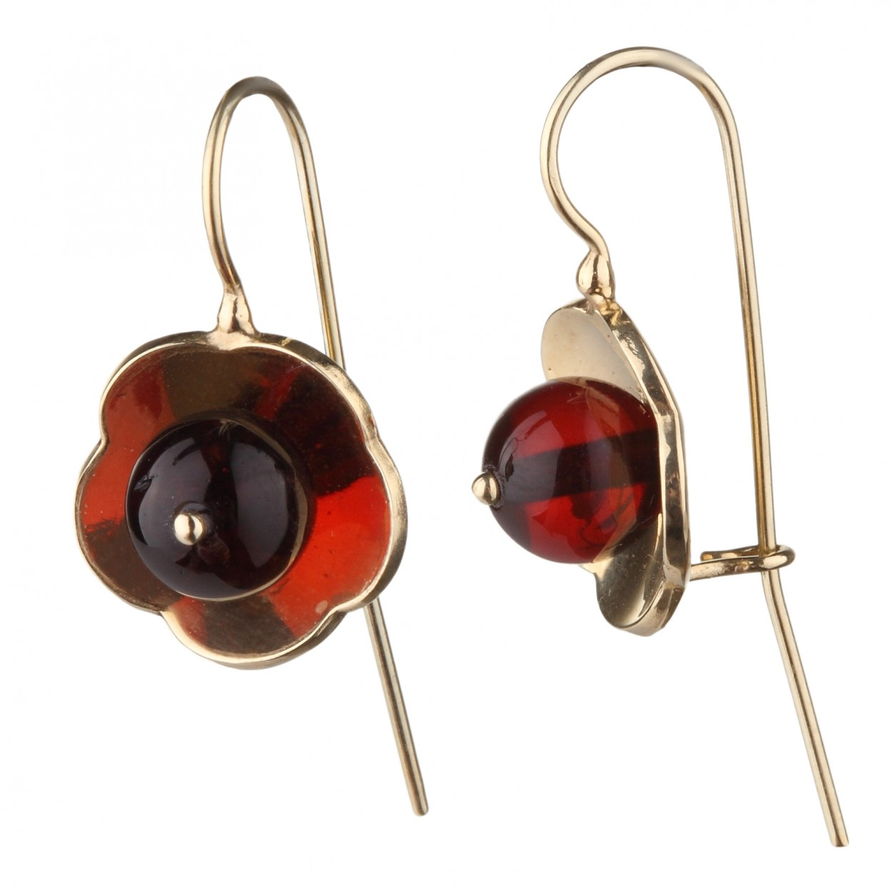 Mona Amber Earrings
