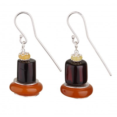 Giza Amber Earrings