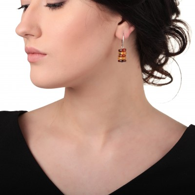 Spring Amber Earrings
