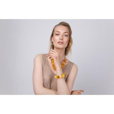 Sunshine Amber Earrings