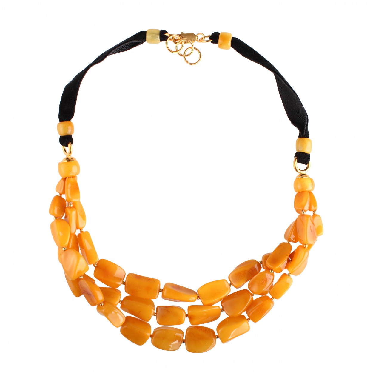 Daisy Amber Necklace