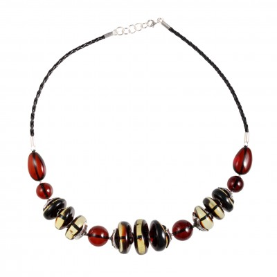 Modern Lady 2 Amber Necklace