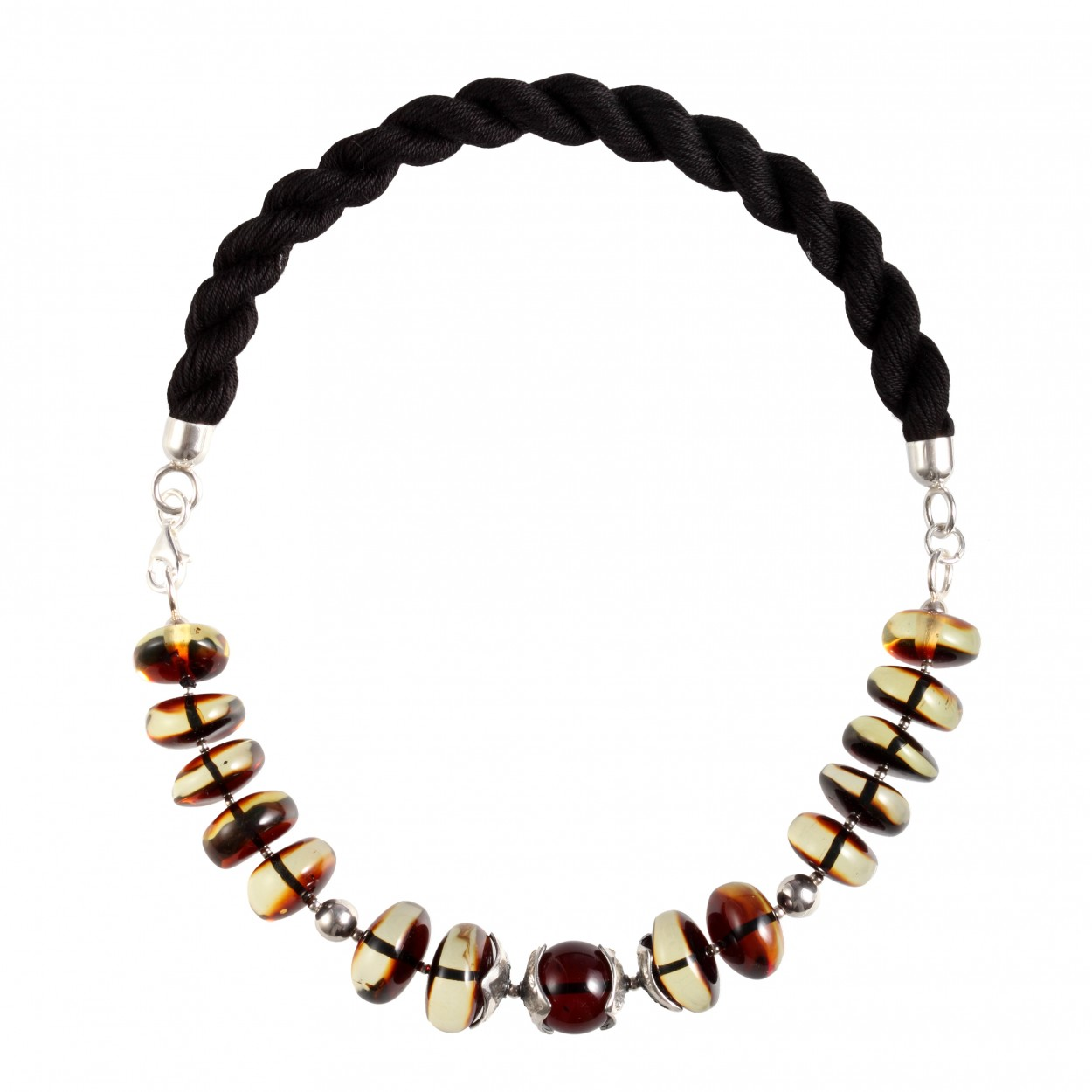 Modern Lady Amber Necklace