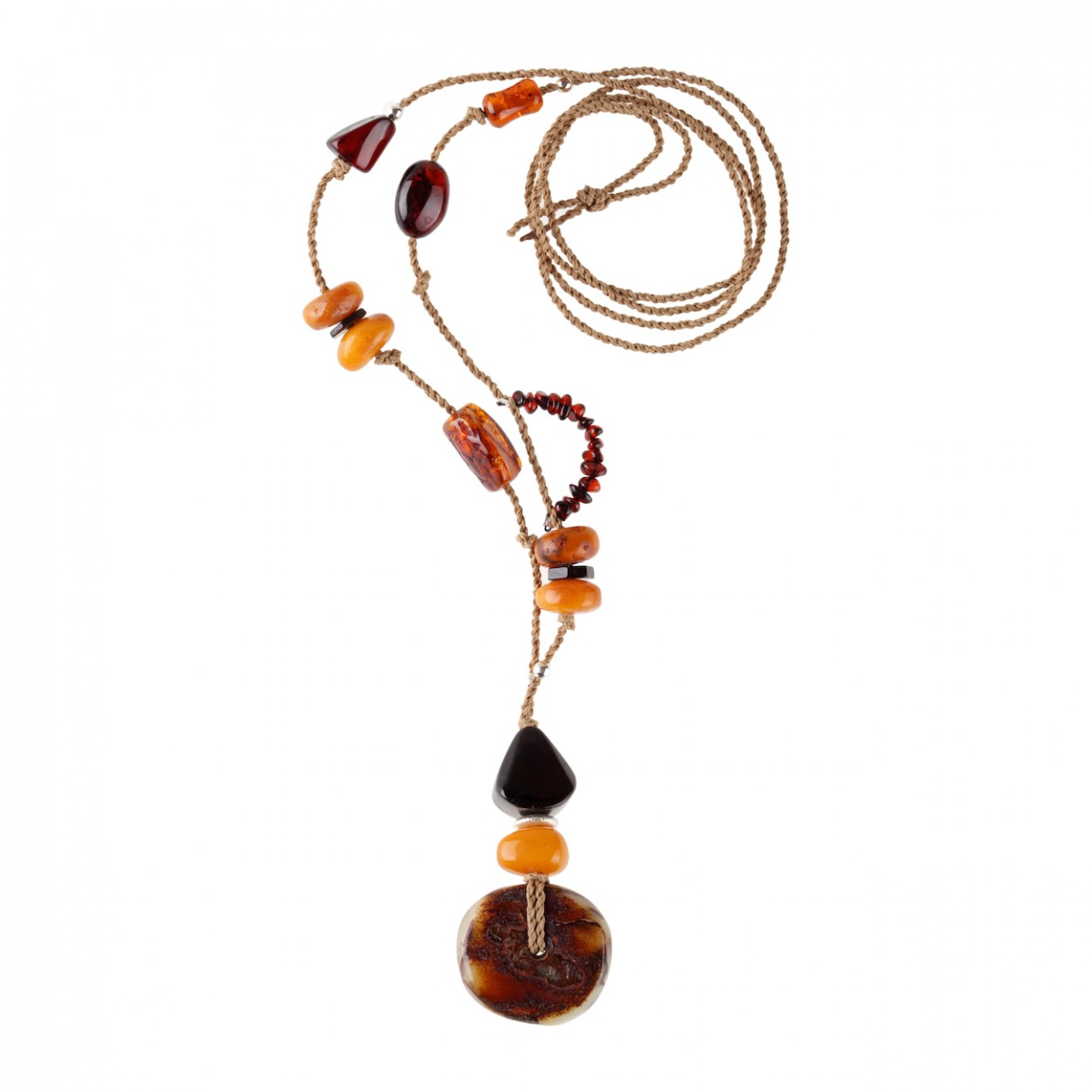 Fantasy Amber Necklace