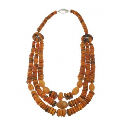 Ancient Tibetan  Amber Necklace